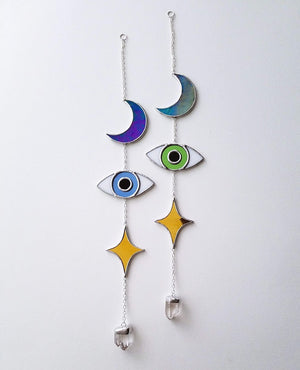 Glass Totem Suncatcher