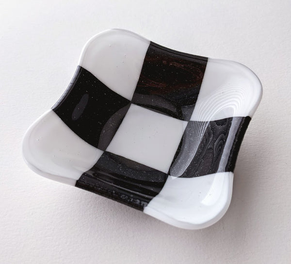 Fused Glass Square Dish