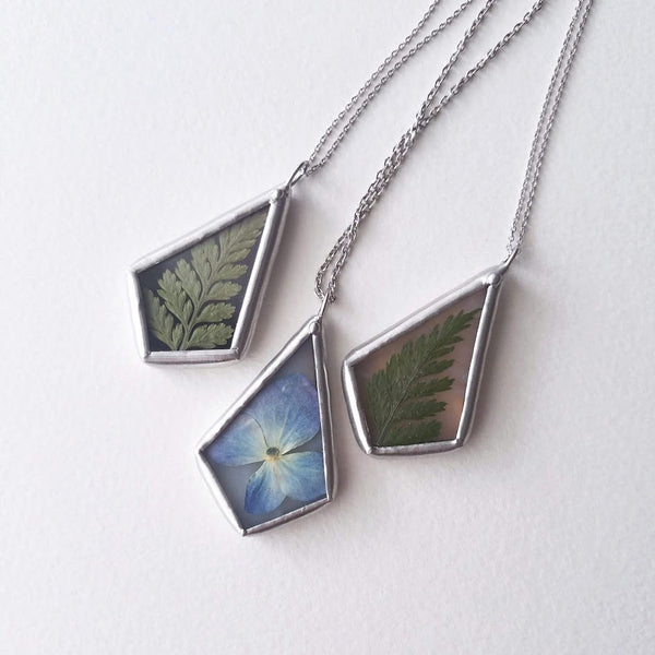 Mini Flora Pendant Necklaces