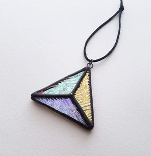 Aura Triangle Suncatcher