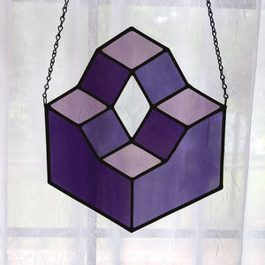 Purple Platforms Suncatcher
