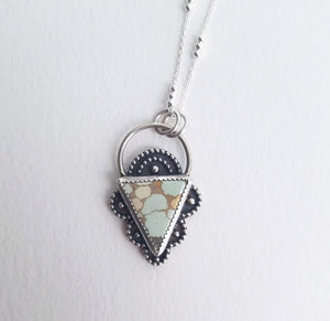 Sand Hill Turquoise Pendant Necklace