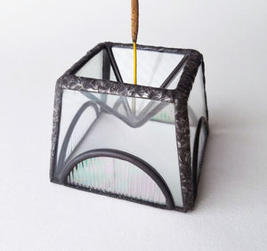 Glass Incense Holder