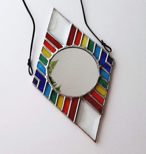 Rainbow Mirror Diamond with Bevels