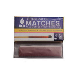 UCO Storm Proof Matches Per 25