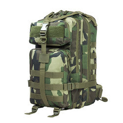 NcStar Small Backpack Woodland Camo