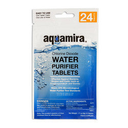 Aquamira Water Purifier Tablets, 20 Pack