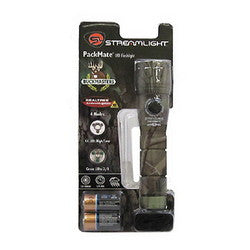 Streamlight PackMate Green Camo w/Green LED