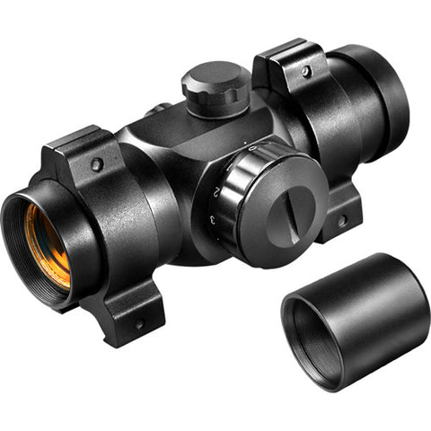 Barska Optics Red Dot 25mm, Short Tube, Black