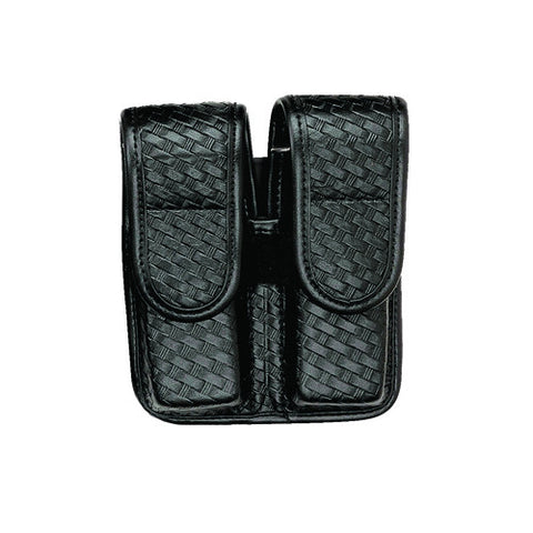 Bianchi 7902 Double Mag Pouch-Basket Black Hid 2