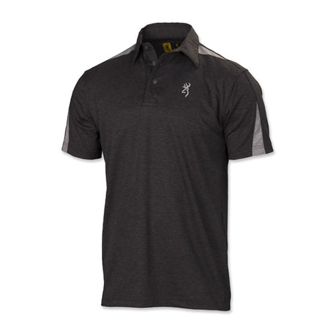 Browning Highline Polo Shirt, Dark Heather X-Large