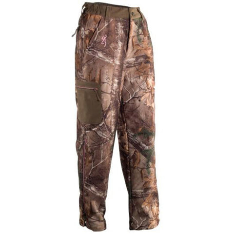 Browning Hell's Belles Soft Shell Pant, Mossy Oak Break-Up Country Large