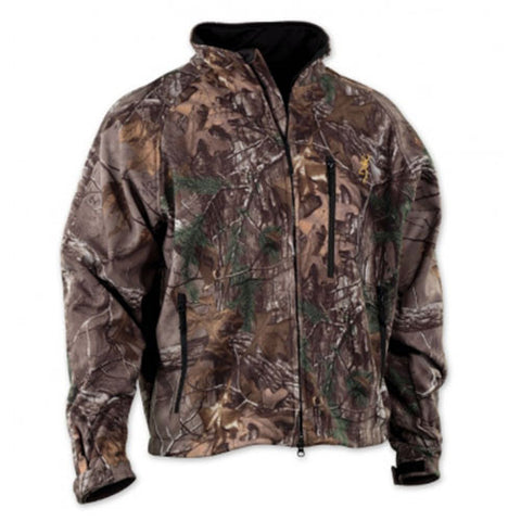 Browning Wasatch Soft Shell Jacket Mossy Oak Break-Up Country, Small