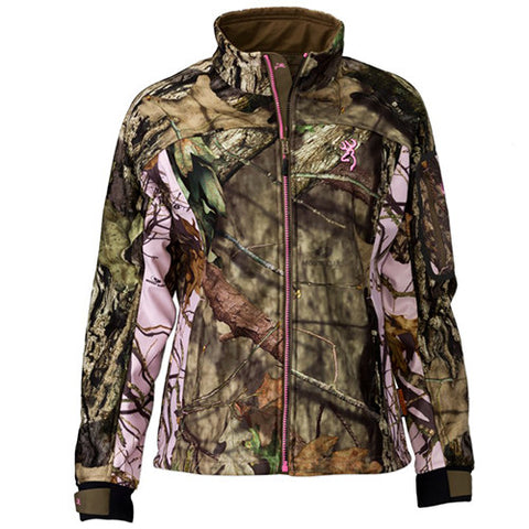 Browning Hell's Belles Soft Shell Jacket Mossy Oak Break-Up Country, Small
