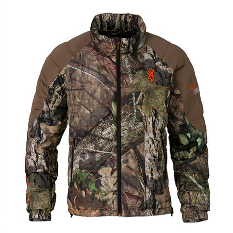 Browning Hell's Belles Blended Down Jacket Mossy Oak Break-Up Country/Tan, Medium