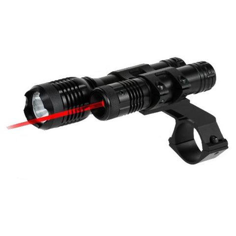 "BSA 650nM Red Laser  w/160 Lumen Light 1"" Mount"