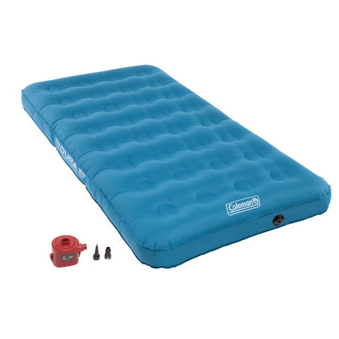 Coleman Airbed Twin Standard Height Dura Plus w/4D Combo