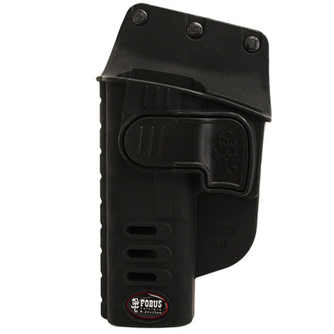 Fobus Glock 17/19/22/etc CH Rapid Release Level 2 Holster Left Hand, Roto Belt