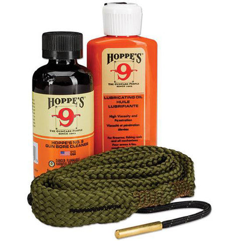 Hoppes 556, 22 Caliber Rifle Cleaning Kit, Clam