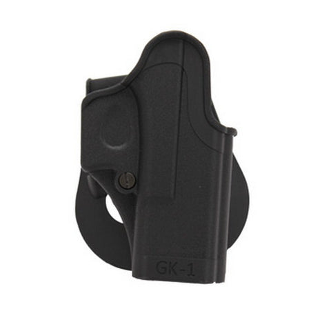 SigTac Standard Paddle Holster All Glock 9mm/40/357 Black, Right Hand