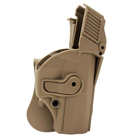 SigTac Retention Roto Paddle Holster USP Compact 9/40, Level 3, Tan