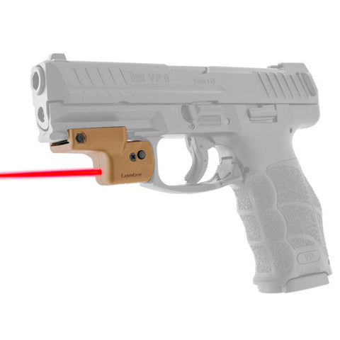 LaserLyte Lyte Ryder: Fits All Pistols w/Rails Tan