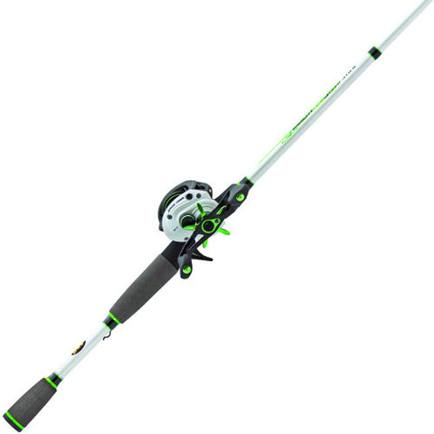 "Lews Fishing Mach 1 Speed Spool Baitcast Combo, 6'10"", 7.1:1 Gear Ratio, 9+1 Bearings"