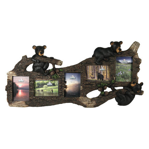 Rivers Edge Products Picture Frame 5 Photo, Bear