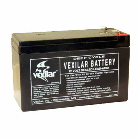 Vexilar Inc. Battery Only-(9 Amp Hour High Perform Battery)