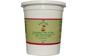 Raw, Creamed Clover Honey - 1kg Plastic Tub (Case of 12)