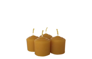 Votive Beeswax Candles (Pack of 8)