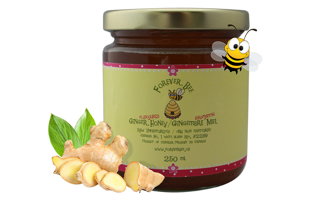 Ginger Honey - 250ml *NEW SIZE*
