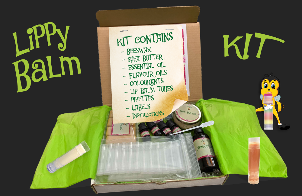 Lippy Balm Kit - All Natural Ingredients