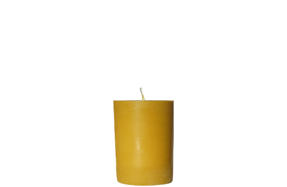 Pillar Beeswax Candle (Case of 12)