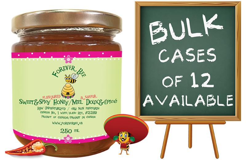 Sweet & Spicy Honey - 250ml (Case of 12)