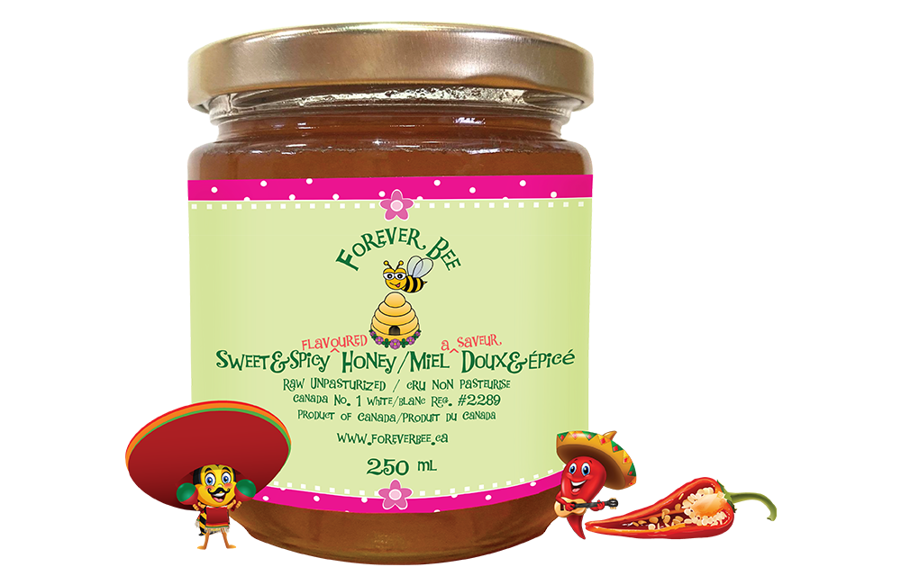 Sweet & Spicy Honey - 250ml