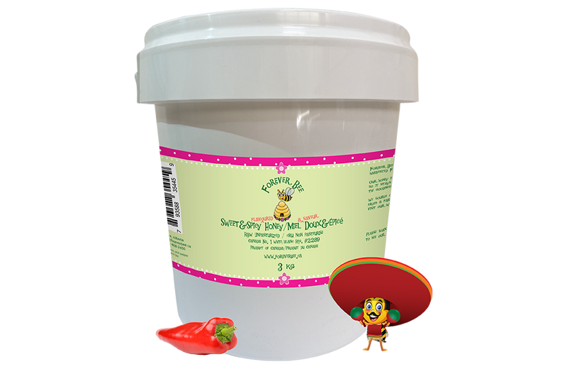 Sweet & Spicy Honey - 3kg