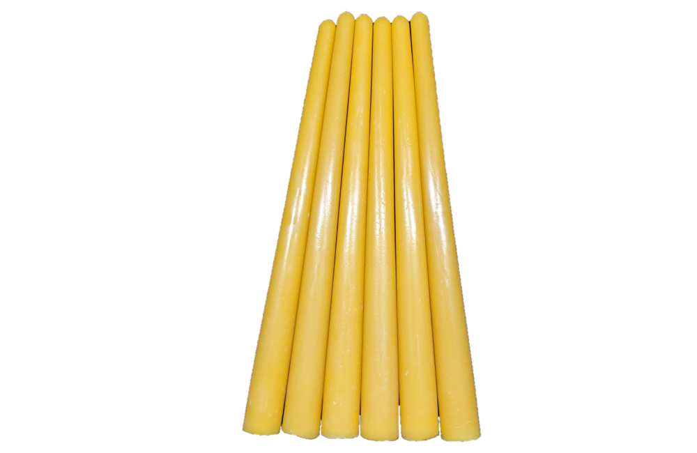 Taper Beeswax Candles - 10""