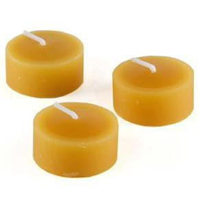 Candles - Tealight Beeswax Candles (Pack Of 16)