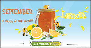 Flavoured Honey - Lemon Honey - September Feature