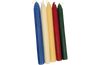 "Rolled Beeswax Taper Candles - 8.5"" (Case of 12 Pairs)"