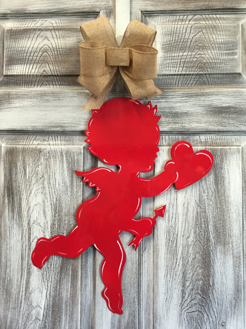 "Cupid Door Hanger 20""x13"""
