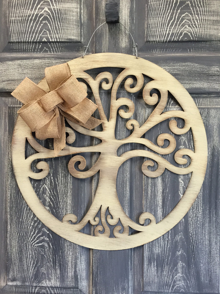 "Tree of Life Doorhanger 22"" More Colors Available"