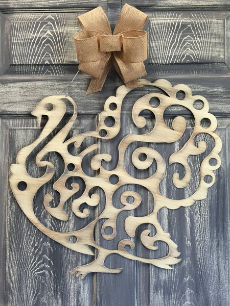 "Turkey Doorhanger 21""x23"" More Colors Available"