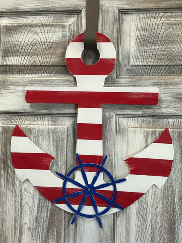 "Anchor Doorhanger 22""x19"" More Colors Available"