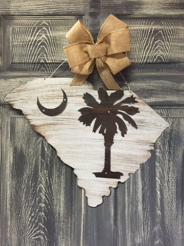 "State of South Carolina Doorhanger 16""x22"""