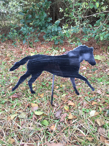 "10"" Horse Yard Stake More Colors Available"