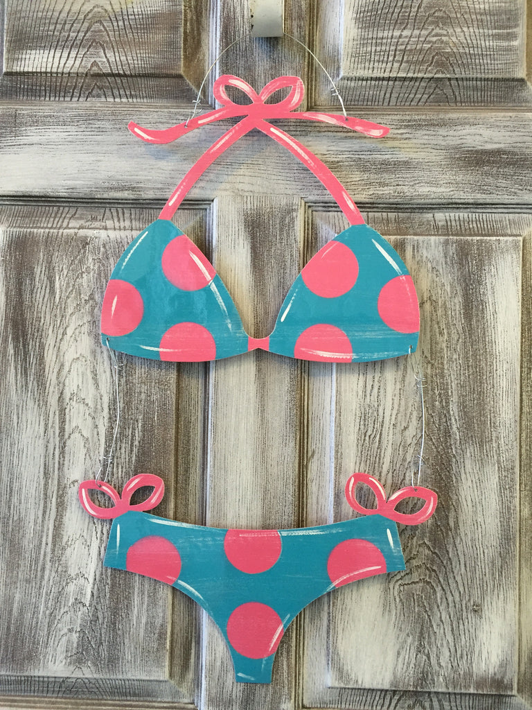 "Bikini Doorhanger 23""x16"" More Colors Available"