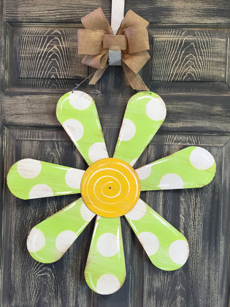 "Flower Doorhanger 22""x22"" More Colors Available"