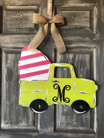 Easter  Truck door or yard stake 22x14""